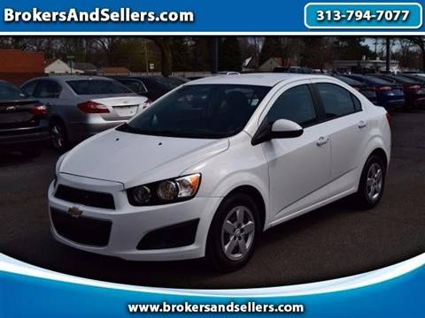 2014 Chevrolet Sonic for sale in Taylor, MI