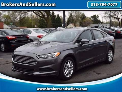 2014 Ford Fusion for sale in Taylor, MI