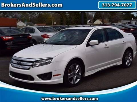 2012 Ford Fusion for sale in Taylor, MI