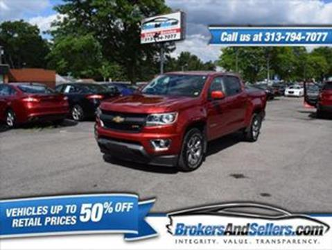 2016 Chevrolet Colorado for sale in Taylor, MI