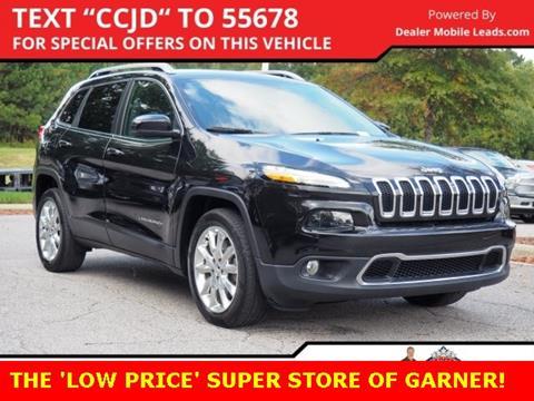2016 Jeep Cherokee for sale in Garner, NC