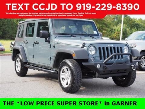 2014 Jeep Wrangler Unlimited for sale in Garner, NC