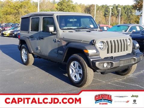 2020 Jeep Wrangler Unlimited for sale in Garner, NC