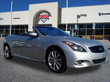 2014 Infiniti Q60 Convertible for sale in Garner, NC