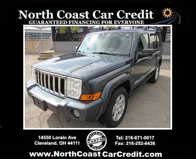 2007 Jeep Commander Limited 4dr SUV 4WD at North Coast Car Credit