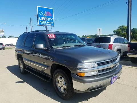 2001 Chevrolet Tahoe for sale in Merrill, IA