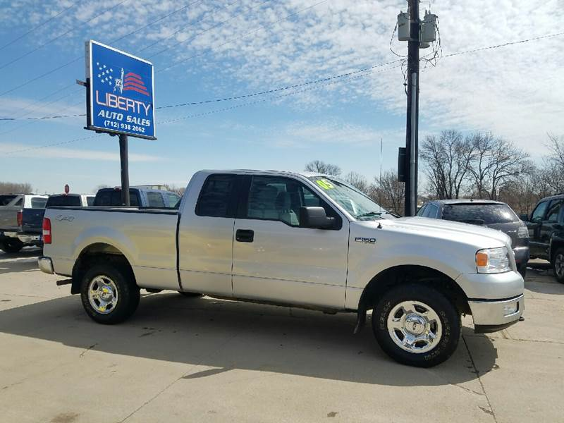 Liberty Auto Sales >> 2005 Ford F 150 4dr Supercab Xlt 4wd Styleside 6 5 Ft Sb In Merrill
