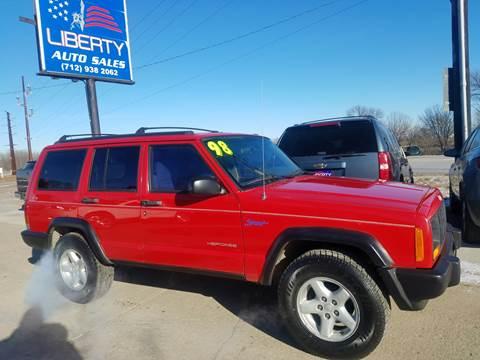 1998 Jeep Cherokee for sale in Merrill, IA