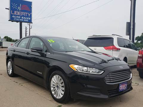 2015 Ford Fusion Hybrid for sale in Merrill, IA