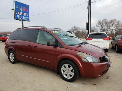 2005 Nissan Quest for sale in Merrill, IA