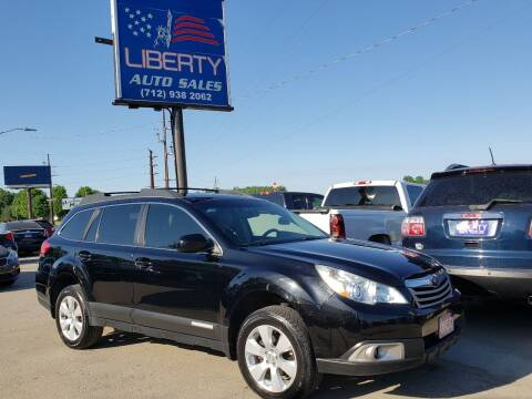 2012 Subaru Outback for sale at Liberty Auto Sales in Merrill IA