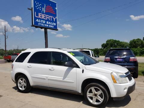 2005 Chevrolet Equinox for sale at Liberty Auto Sales in Merrill IA