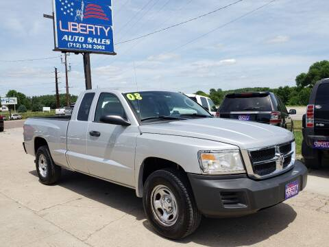 2008 Dodge Dakota for sale at Liberty Auto Sales in Merrill IA