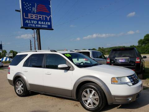 2008 Ford Taurus X for sale at Liberty Auto Sales in Merrill IA