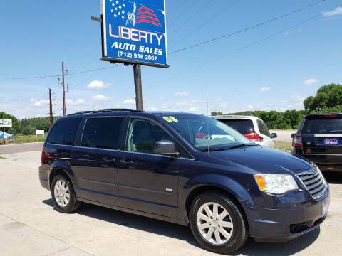 2008 Chrysler Town and Country for sale at Liberty Auto Sales in Merrill IA