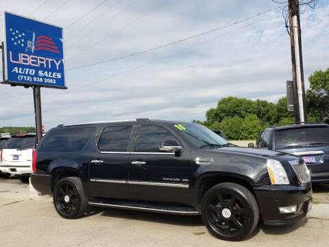 2010 Cadillac Escalade ESV for sale at Liberty Auto Sales in Merrill IA