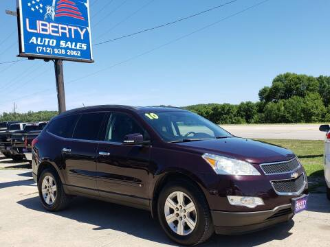 2010 Chevrolet Traverse for sale at Liberty Auto Sales in Merrill IA
