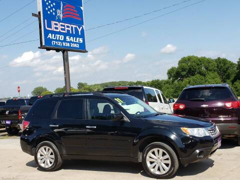 2011 Subaru Forester for sale at Liberty Auto Sales in Merrill IA