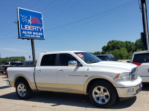 2011 RAM Ram Pickup 1500 for sale at Liberty Auto Sales in Merrill IA