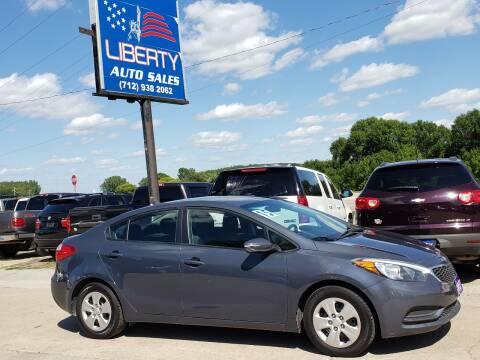 2015 Kia Forte for sale at Liberty Auto Sales in Merrill IA