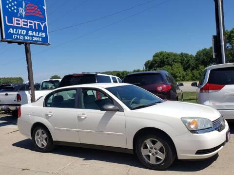 2004 Chevrolet Malibu for sale at Liberty Auto Sales in Merrill IA