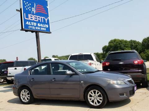 2008 Mazda MAZDA3 for sale at Liberty Auto Sales in Merrill IA