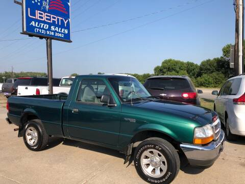 2000 Ford Ranger for sale at Liberty Auto Sales in Merrill IA