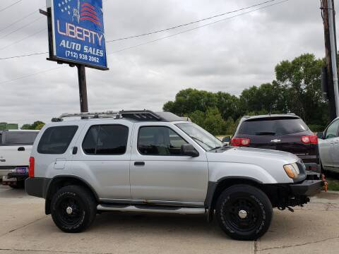 2001 Nissan Xterra for sale at Liberty Auto Sales in Merrill IA