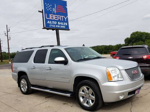 2012 GMC Yukon XL for sale at Liberty Auto Sales in Merrill IA