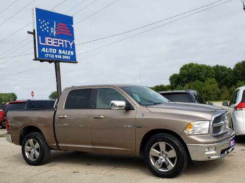 2010 Dodge Ram Pickup 1500 for sale at Liberty Auto Sales in Merrill IA