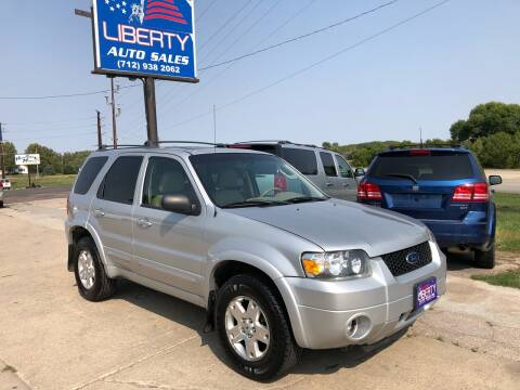 2006 Ford Escape for sale at Liberty Auto Sales in Merrill IA