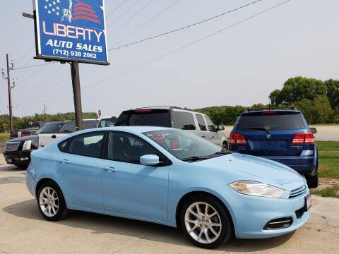 2013 Dodge Dart for sale at Liberty Auto Sales in Merrill IA