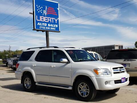 2007 Toyota Sequoia for sale at Liberty Auto Sales in Merrill IA