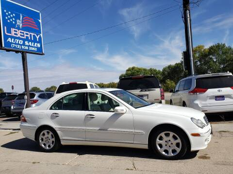 2006 Mercedes-Benz C-Class for sale at Liberty Auto Sales in Merrill IA