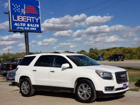 2014 GMC Acadia for sale at Liberty Auto Sales in Merrill IA