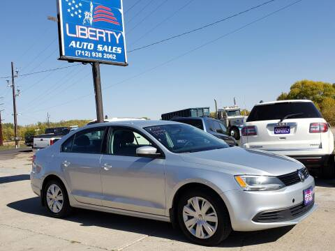 2014 Volkswagen Jetta for sale at Liberty Auto Sales in Merrill IA