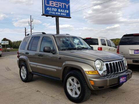 2005 Jeep Liberty for sale at Liberty Auto Sales in Merrill IA