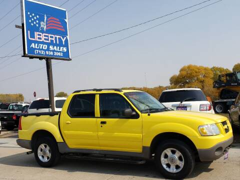 2003 Ford Explorer Sport Trac for sale at Liberty Auto Sales in Merrill IA