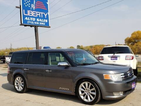2010 Ford Flex for sale at Liberty Auto Sales in Merrill IA