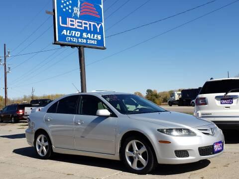 2008 Mazda MAZDA6 for sale at Liberty Auto Sales in Merrill IA