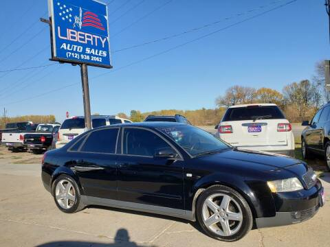 2003 Audi A4 for sale at Liberty Auto Sales in Merrill IA