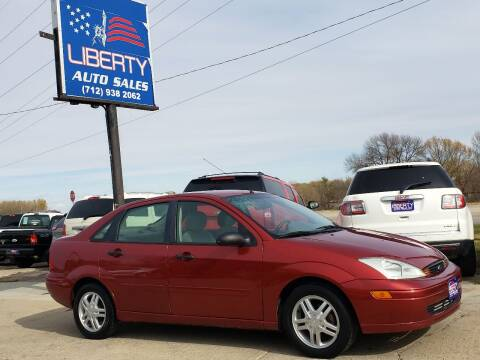 2001 Ford Focus for sale at Liberty Auto Sales in Merrill IA
