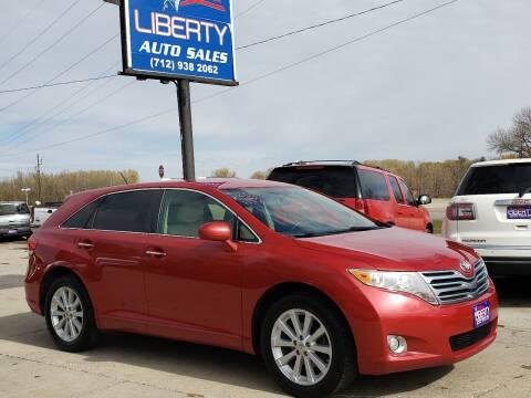 2010 Toyota Venza for sale at Liberty Auto Sales in Merrill IA