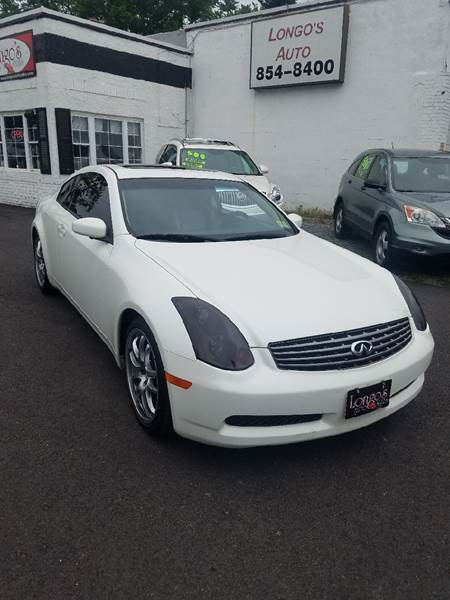 2003 Infiniti G35 2dr Coupe - Collingswood NJ