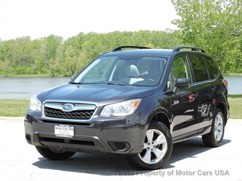 2015 Subaru Forester for sale in Alsip, IL