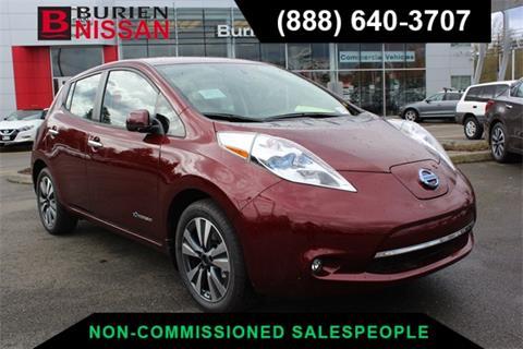 2017 Nissan LEAF for sale in Burien, WA