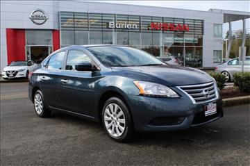 2015 Nissan Sentra for sale in Burien, WA