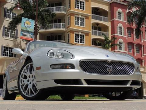 2006 Maserati GranSport for sale in Naples, FL