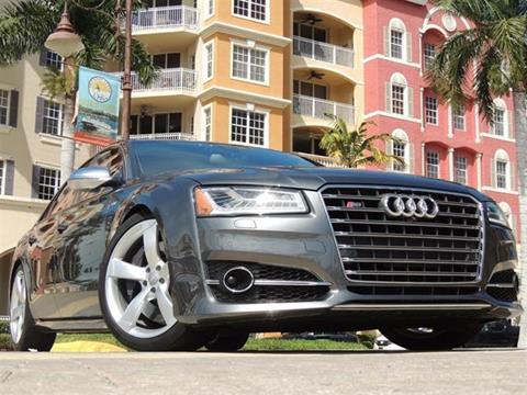 2015 Audi S8 for sale in Naples, FL