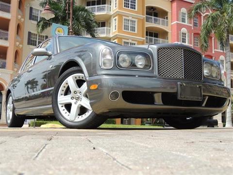 2003 Bentley Arnage for sale in Naples, FL